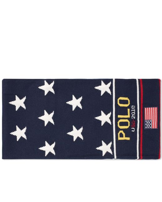 Polo Ralph Lauren - Blue Scarf for Men - Lyst