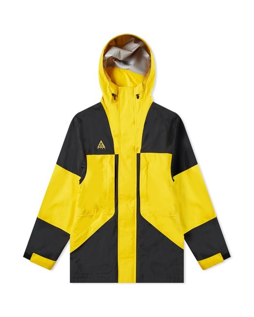 various colors 830ed 2d3f2 Nike - Yellow Acg Gore-tex Jacket for Men - Lyst ...