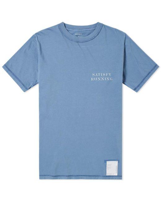 Satisfy - Blue Reverse Tee for Men - Lyst