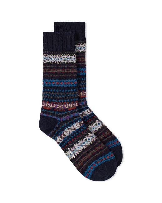 Barbour - Blue Boyd Sock for Men - Lyst