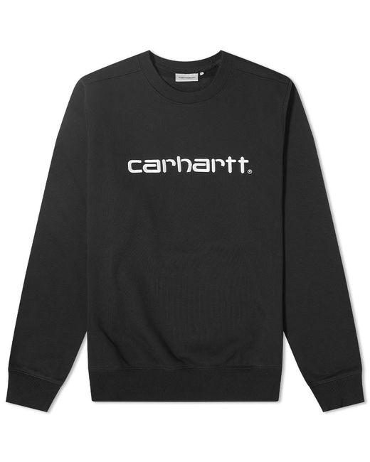 Carhartt WIP Black Logo Sweat for men