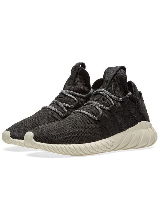 Cheap Adidas Tubular Invader Strap (Core Black & White) End