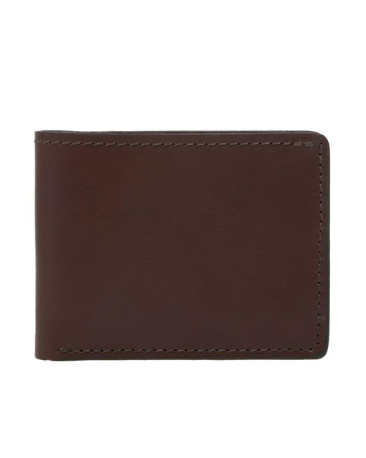Tanner Goods - Brown Utility Bifold Wallet for Men - Lyst