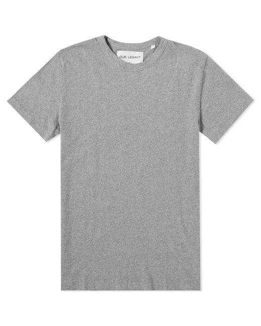 Our Legacy - Gray Perfect Tee for Men - Lyst