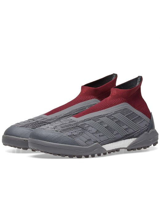 Adidas - Gray X Paul Pogba Predator 18+ Tf for Men - Lyst