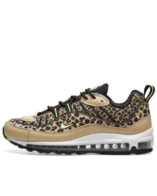 Nike Canvas Air Max 98 Premium W 'animal Pack' in Brown Lyst