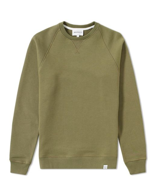 Norse Projects | Green Ketel Crew Sweat for Men | Lyst