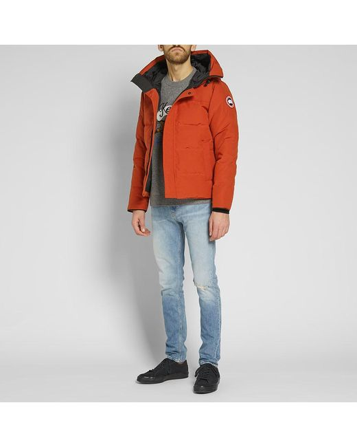 ... Canada Goose - Red Macmillan Fusion Fit Parka for Men - Lyst 4972b20846