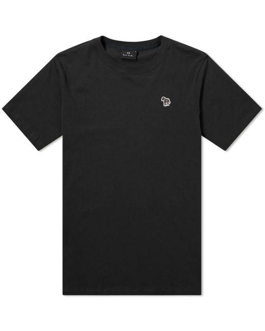 Paul Smith Black Zebra Logo Tee for men