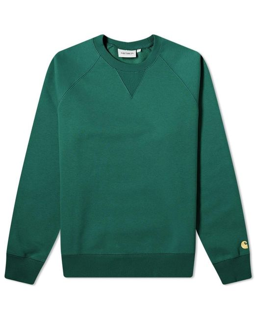 Carhartt WIP Green Chase Sweat for men