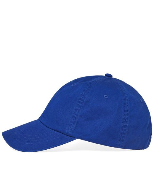 7ad78117a0704 ... Polo Ralph Lauren - Blue Classic Baseball Cap for Men - Lyst ...