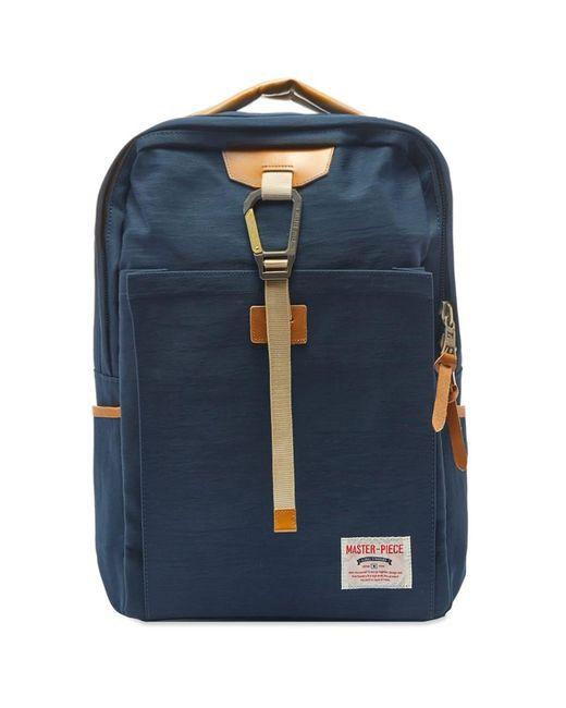 Master Piece Blue Link Series Backpack for men