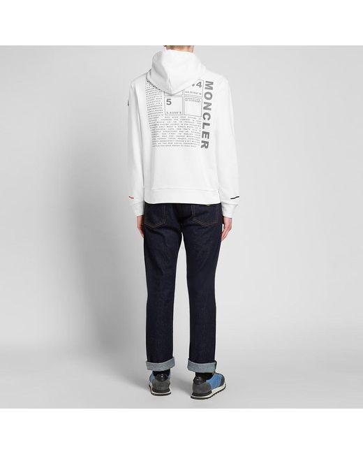 81e3306e2 Men's White Back Print Logo Hoody