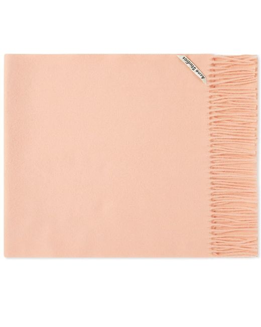 Acne Pink Canada New Wool Scarf for men