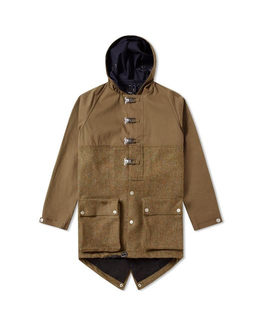Nigel Cabourn | Green Authentic Cameraman Fishtail Split Parka for Men | Lyst