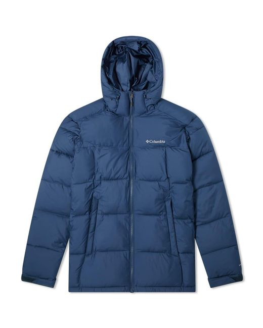 Columbia Blue Pike Lake Hooded Jacket for men