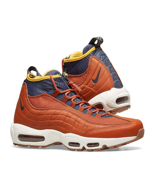 san francisco 5ee13 1617e Men's Orange Air Max 95 Sneakerboot