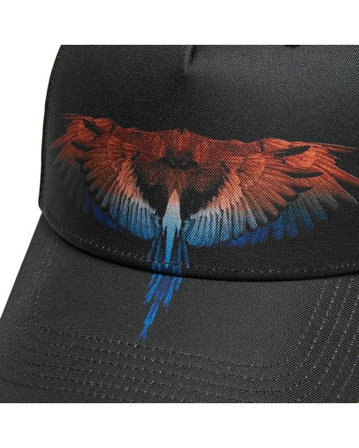 71edd50d536 ... Marcelo Burlon - Black Starter Wings Cap for Men - Lyst ...