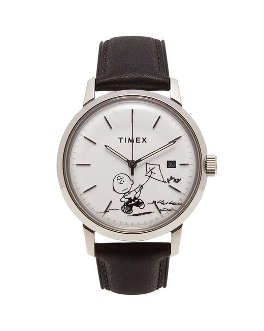 """Timex Metallic Archive """"charlie Brown"""" Marlin Automatic Watch for men"""
