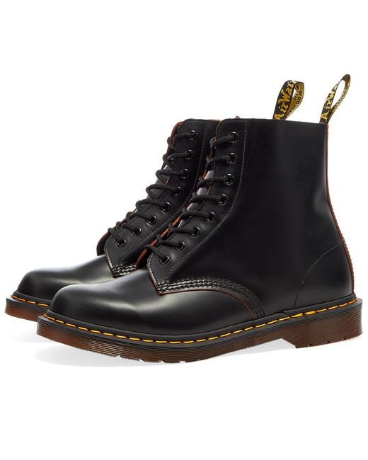 Dr. Martens Black Dr. Martens 1460 Vintage Boot - Made In England for men