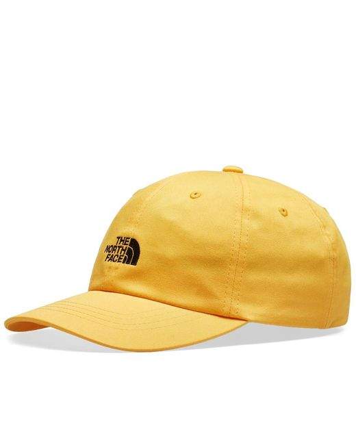 The North Face - Yellow Norm Cap for Men - Lyst ... fac49c6ca73