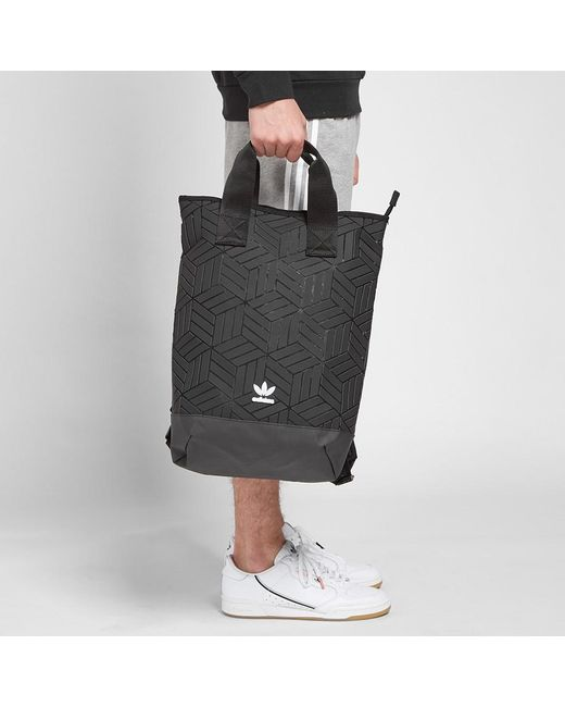 75ce5ce4bb ... Adidas - Black 3d Backpack for Men - Lyst ...