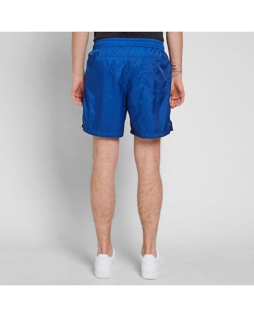 6e9be24ce8 ... Nike - Blue Retro Woven Short for Men - Lyst ...
