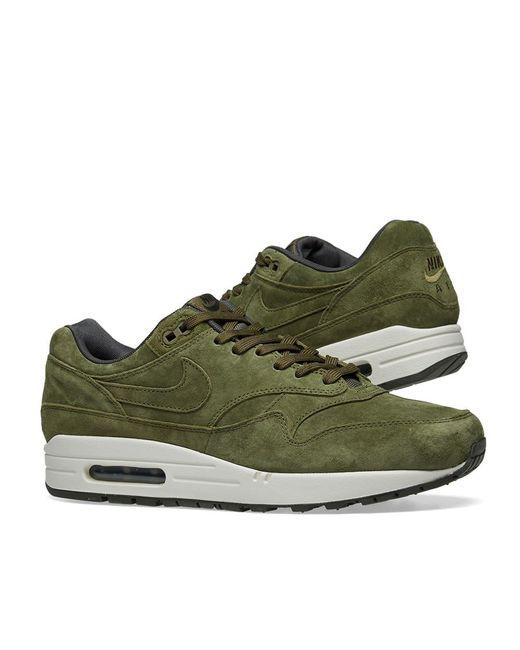 reputable site b2edf a642b ... Nike - Green Air Max 1 Premium for Men - Lyst