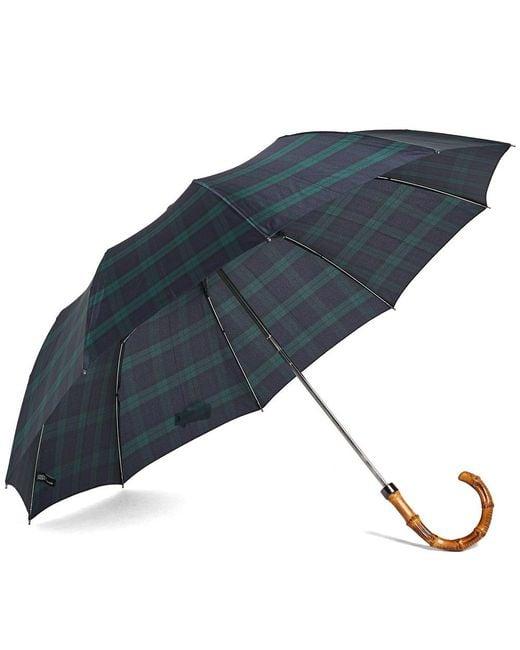 London Undercover - Black Whangee Telescopic Umbrella - Lyst