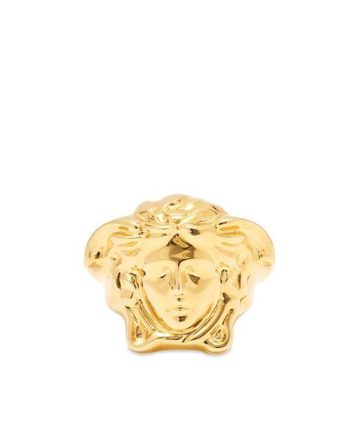 Versace Metallic Medusa Head Ring for men