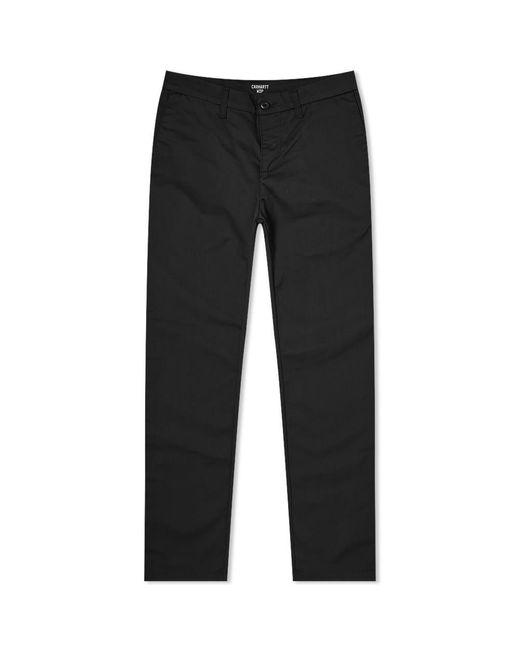 Carhartt WIP Black Sid Pant for men