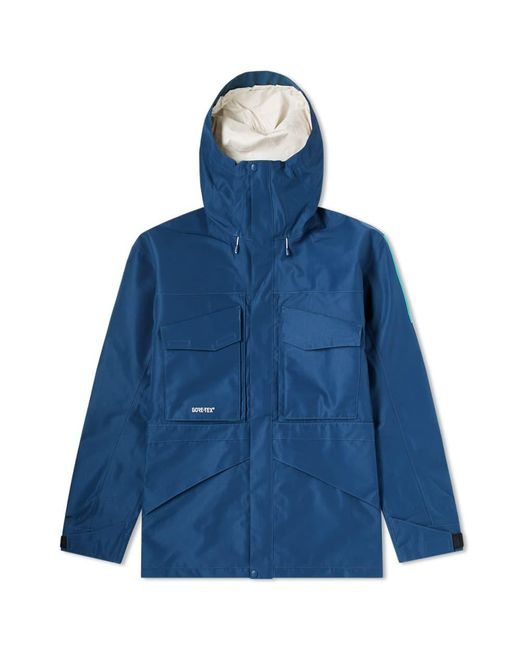 The North Face - Blue Fantasy Ridge Gore-tex Jacket for Men - Lyst