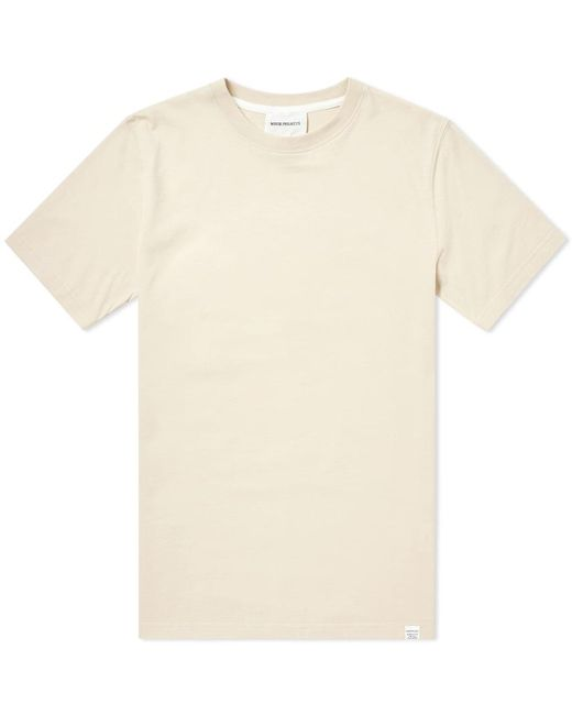 Norse Projects - Brown Niels Standard Tee for Men - Lyst