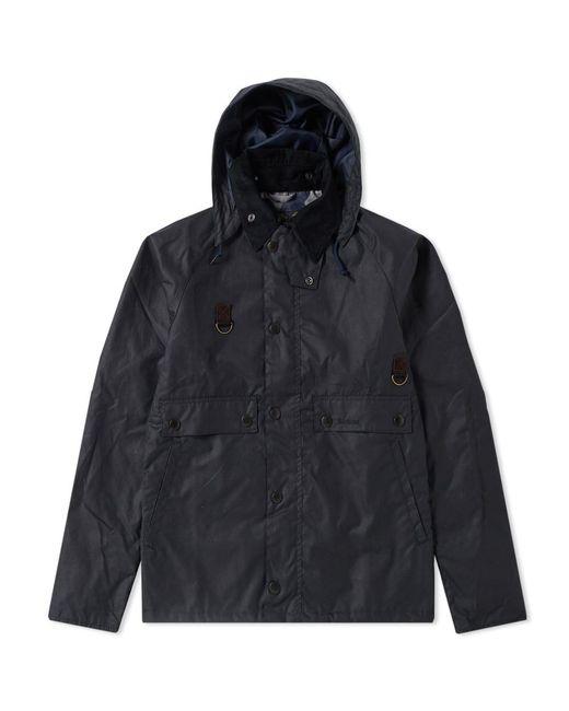 Barbour - Blue Heritage Speyside Wax Jacket for Men - Lyst