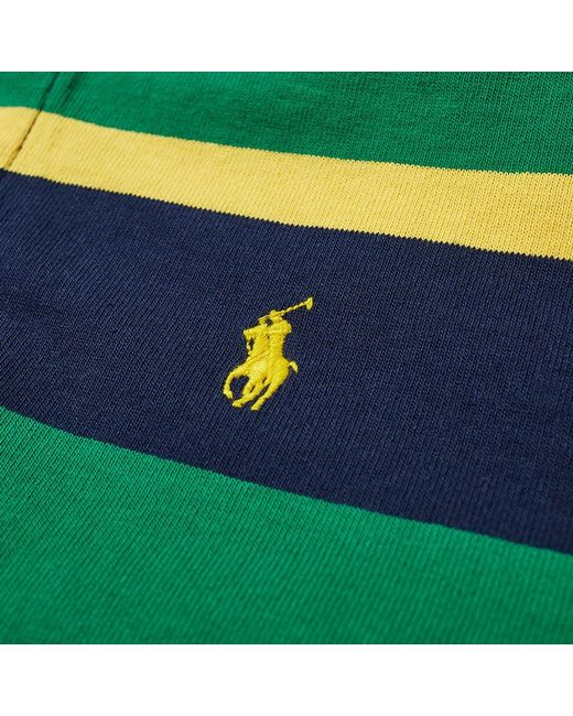 6bed7eee ... Polo Ralph Lauren - Green The Iconic Rugby Shirt for Men - Lyst ...