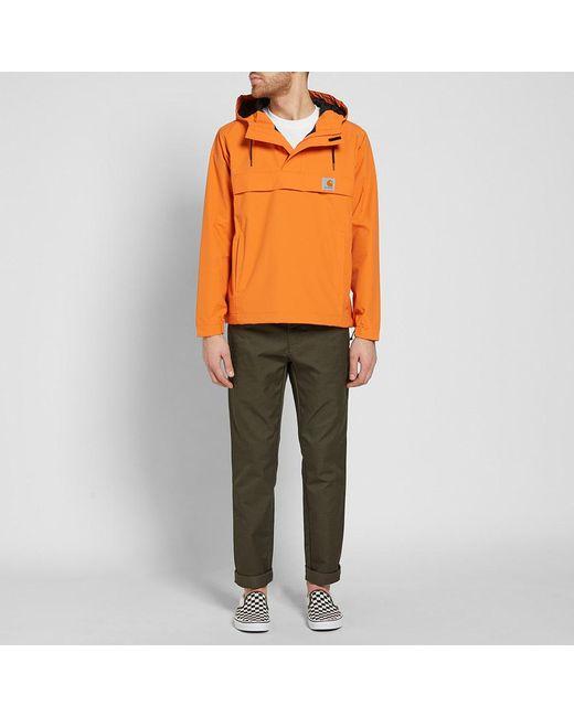 Carhartt wip Carhartt Nimbus Pullover Jacket in Orange for Men | Lyst