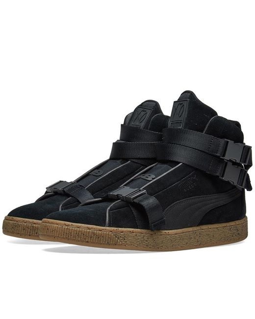timeless design d8db2 3f377 Men's Black X The Weeknd Suede 50