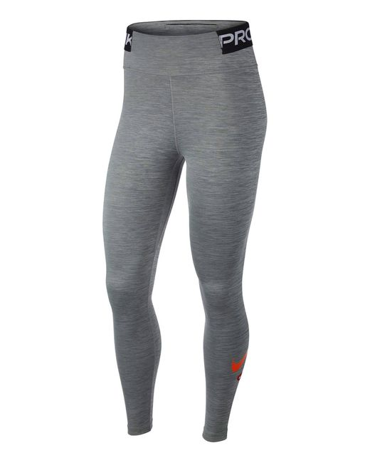 "Nike Gray Tights ""One"""