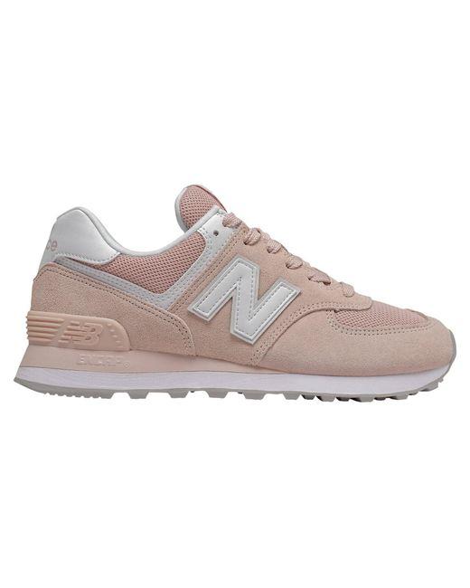 "New Balance Gray Sneaker ""574"""