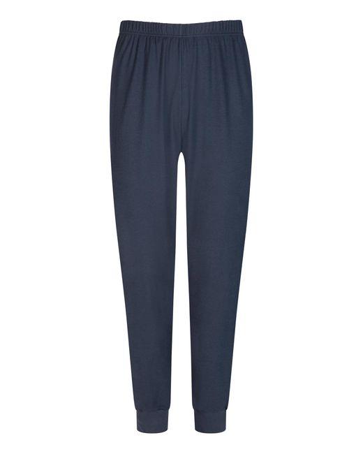Mey Pyjama zweiteilig in Blue für Herren