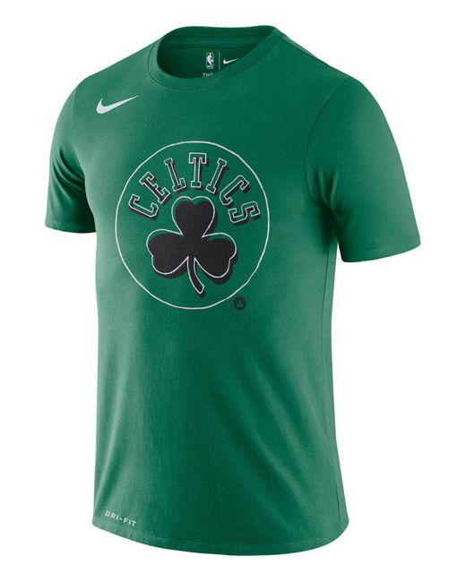 "Nike Basketball-Shirt ""NBA Boston Celtics"" Kurzarm in Green für Herren"