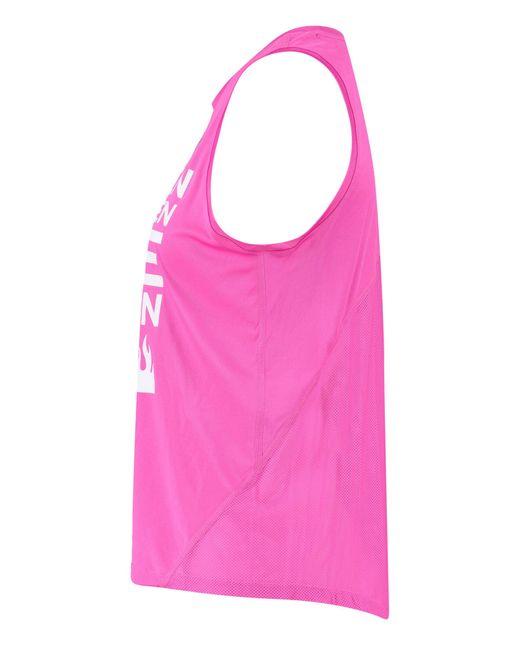 "Nike Pink Lauftanktop ""Miler"""