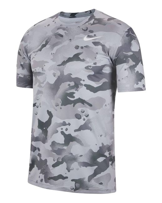 "Nike T-Shirt "" in Gray für Herren"