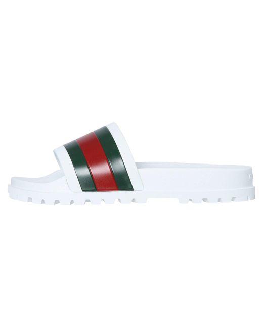 Gucci Pantoletten in Multicolor für Herren