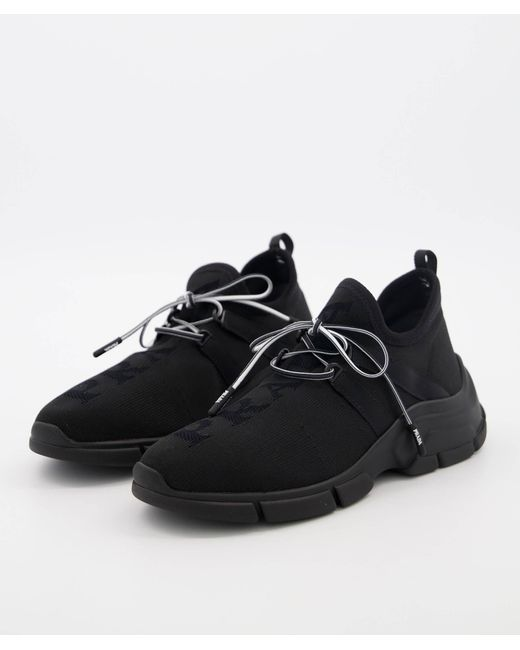 "Prada Black Sneaker ""XY"""