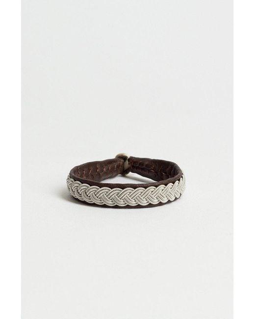 Maria Rudman - Brown Cs01 Bracelet - Lyst