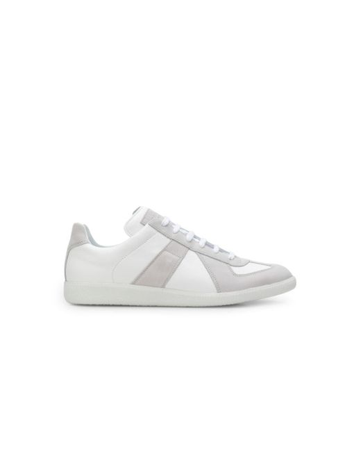 Maison Margiela White Replica Sneakers for men