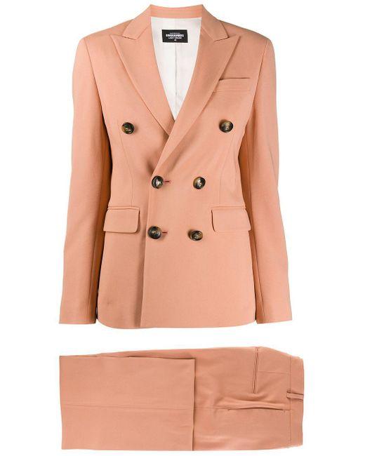 DSquared² Pink Lady Oscar Trouser Suit