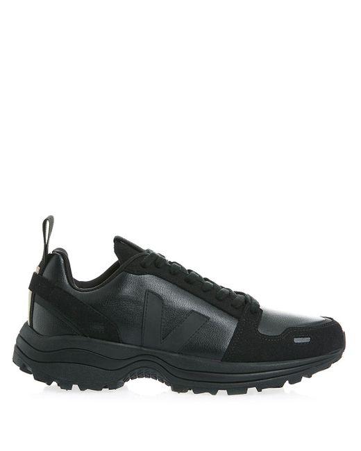 RICK OWENS VEJA Black Veja X Rick Owens Hiking Style Sneakers for men