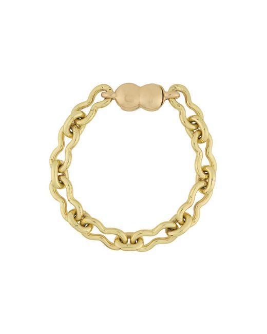 Ellery Metallic Small Chain-link Bracelet